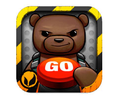 Jeu Battle Bear Go iPad