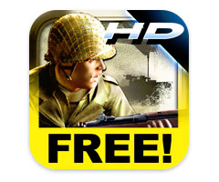 Jeu Brothers in Arms 2 : Global Front HD iPad