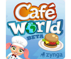 Jeu Caf� World Facebook