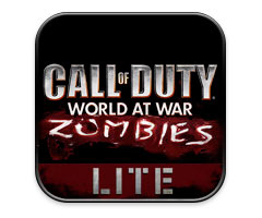 Jeu Call Of Duty : World at war - Zombies Lite iPhone