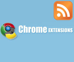Extension Extension Abonnement RSS Chrome