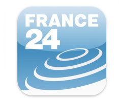 Appli France 24 iPad