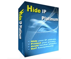 Logiciel Hide IP Platinum 3 Windows
