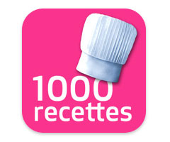 iGourmand 1000 recettes gourmandes iPhone sur Iphone