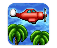 Jeu Jungle Crash Land iPhone