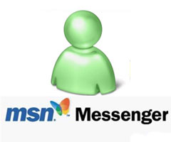 MSN Messenger 8.0 sur Windows