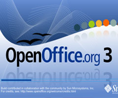 Logiciel Open Office 3.1.1 Windows