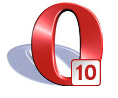 Logiciel Opera 10 Windows