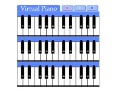 Piano Virtuel Midi 6 sur Windows