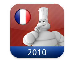 Appli Restaurants du Guide Michelin 2010 France iPhone