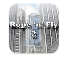 Jeu Rope'n'Fly 2 iPhone