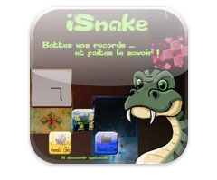 Jeu Snake iPhone