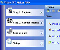 Logiciel Video DVD Maker 3 Windows