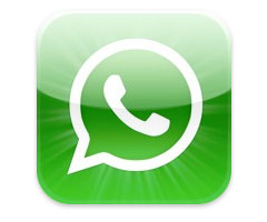 Appli WhatsApp Messenger iPhone