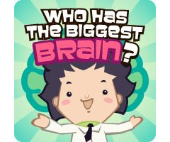 Jeu Who Has The Biggest Brain? Facebook
