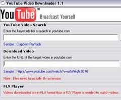 Logiciel YouTube Video Downloader