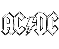 Coloriage Acdc