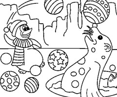Coloriage Animaux Banquise