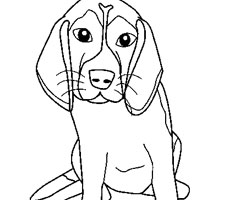 Coloriage Animaux Chien