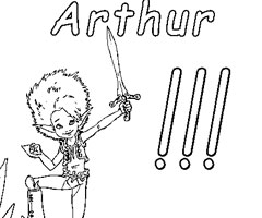 Coloriage Arthur