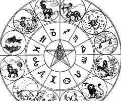 Coloriage Astrologie