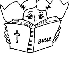Coloriage Bible