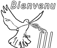 Coloriage Bienvenu