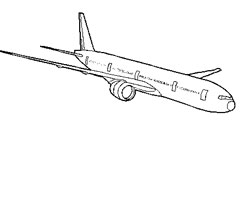 Coloriage Boeing