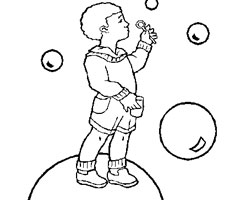 Coloriage Bulle