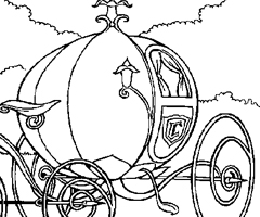 Coloriage Carrosse