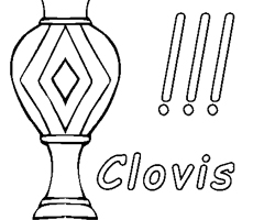 Coloriage Clovis