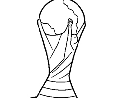 Coloriage Coupe du Monde