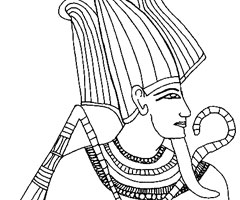 Coloriage Egypte Ancienne