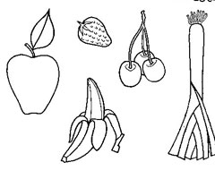 Coloriage Fruits et L�gumes
