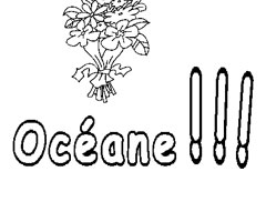Coloriage Ocane