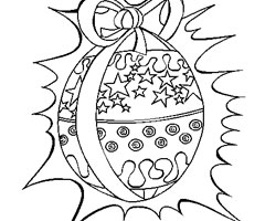 Coloriage Oeuf