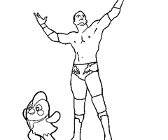 Coloriage Randy Orton