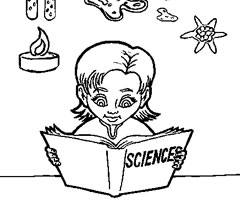 Coloriage Sciences
