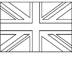 Coloriage Union Jack