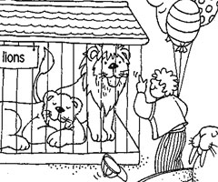 Coloriage Zoo