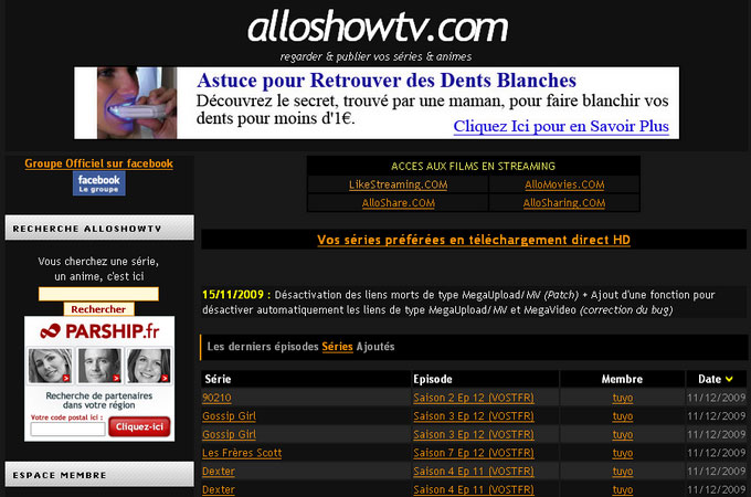 Site Alloshowtv