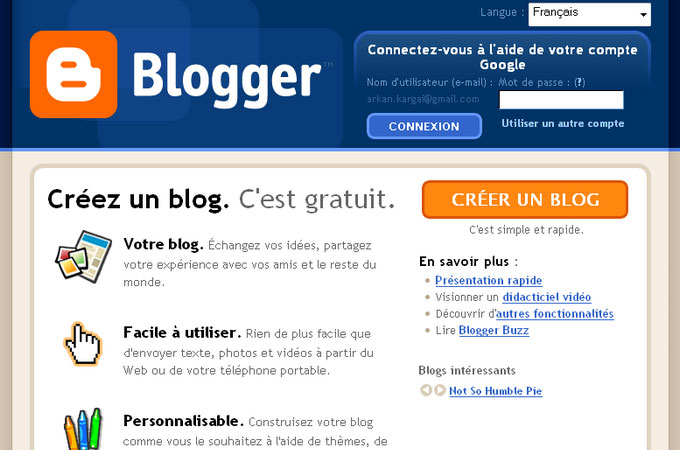 Site Blogspot