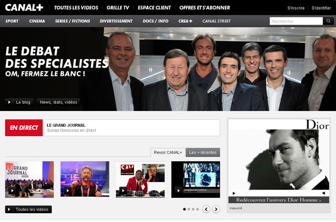 Site Canal-Plus