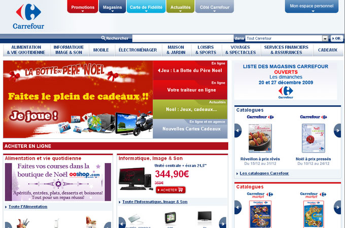 Site Carrefour