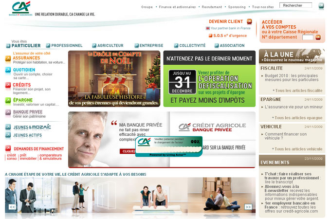 Site Credit-Agricole