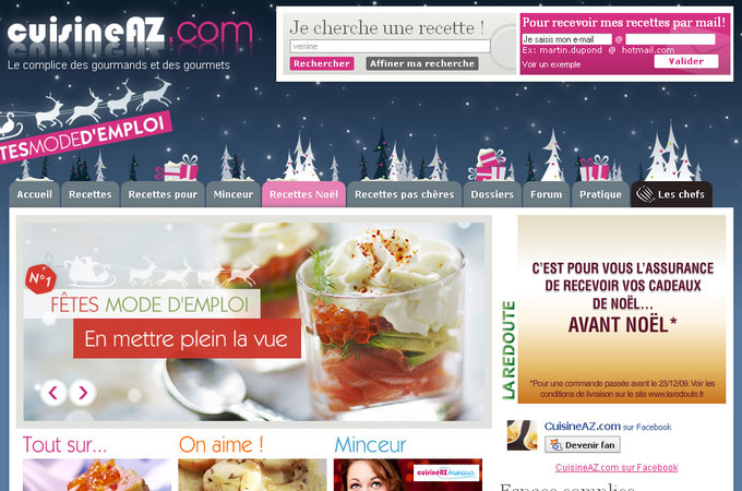 Site Cuisineaz