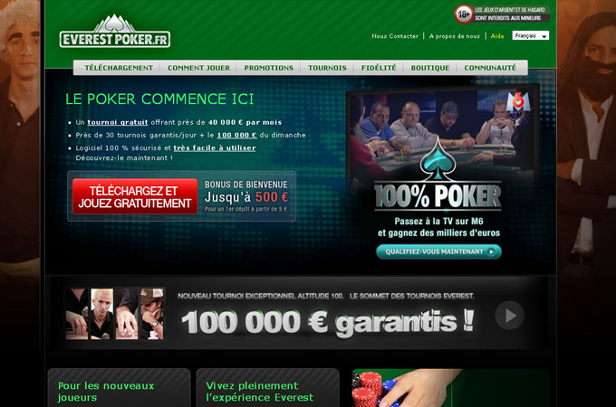 Site EverestPoker