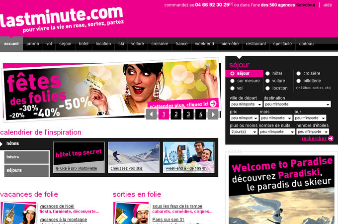 Site Lastminute