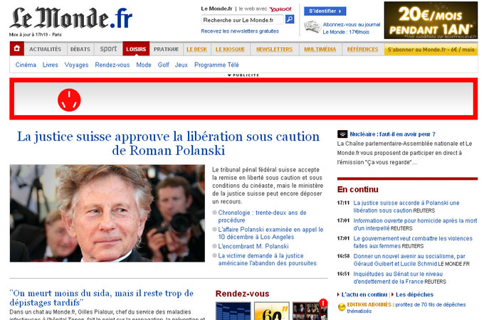 Site Lemonde