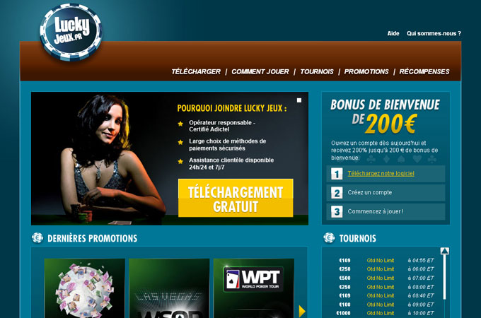 Site LuckyJeux